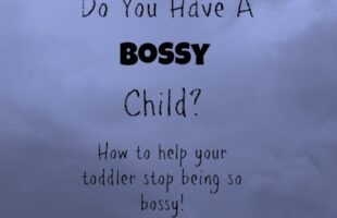dealing with a bossy child