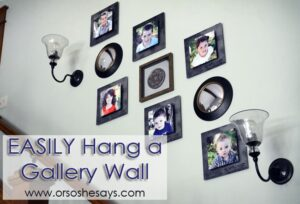 How to Easily Hang a Gallery Wall