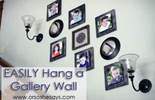 Easily Hang a Gallery Wall