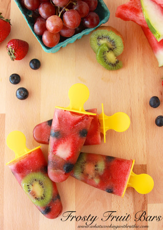 Frosty Fruit Bars by www.whatscookingwithruthie.com