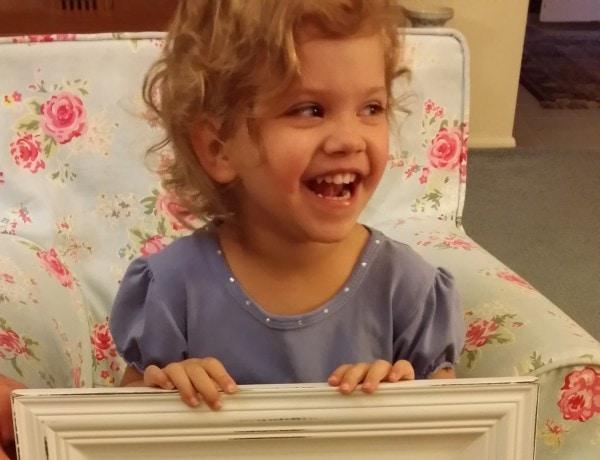 Livia laughing