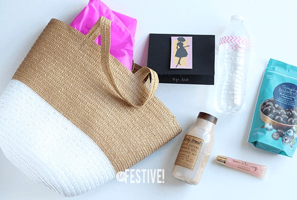 girls-night-out gift bags