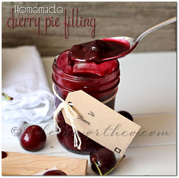 Homemade Cherry Pie Filling from kleinworthco.com
