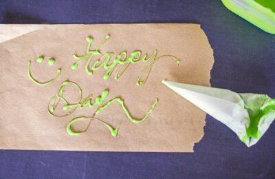 Parchment Decorating Bag