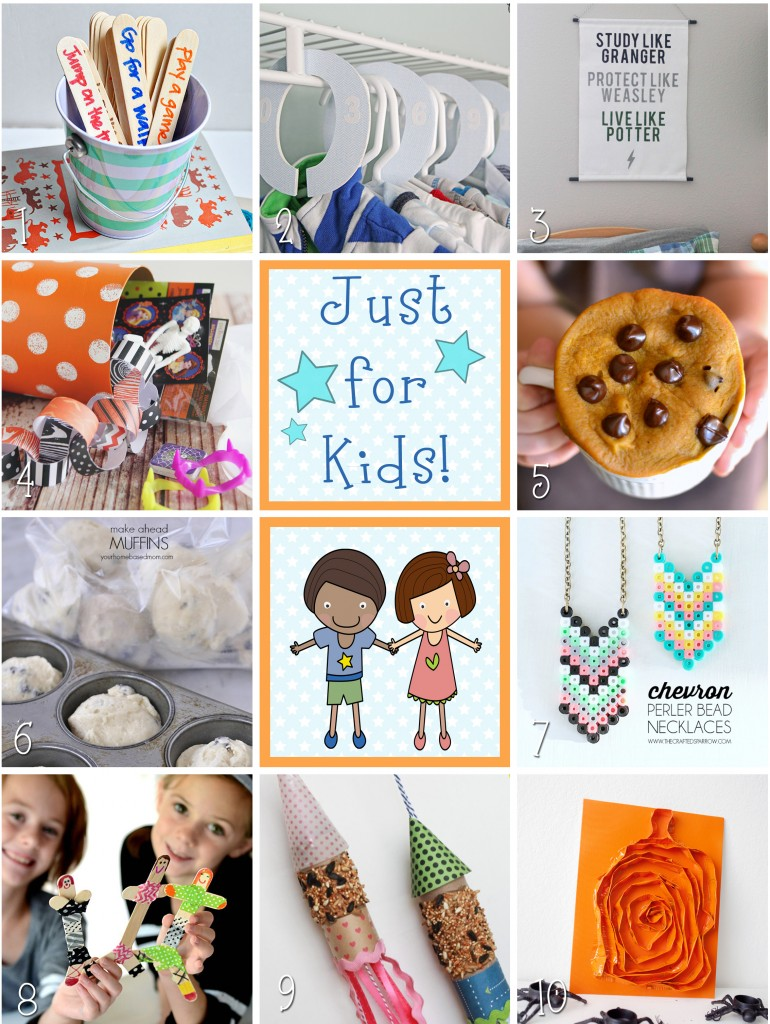 10 awesome ideas for KIDS!! | lollyjane.com