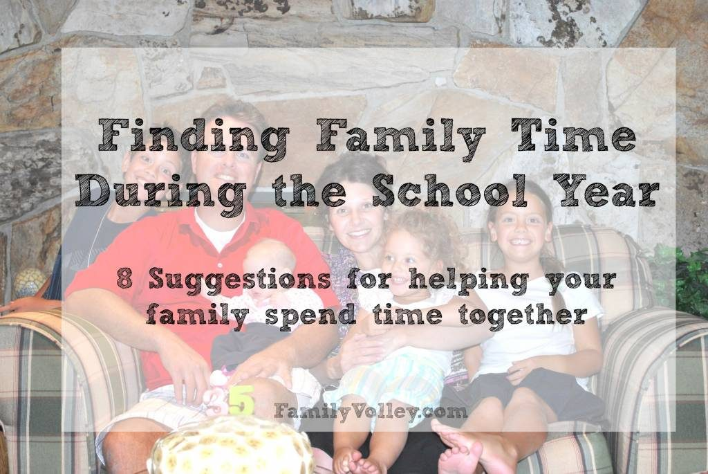 finding family time