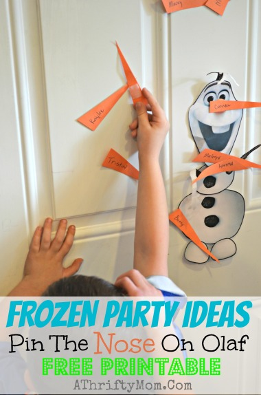 Frozen-party-ideas-Pin-the-nose-on-Olaf-FREE-PRINTABLE-Dinsey-Frozen-