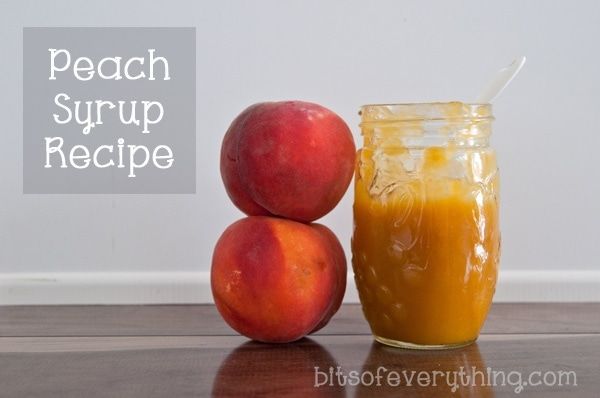 PeachSyrupRecipe