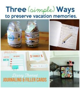 Preserve Vacation Memories- 3 Simple Ways (she: Adelle)