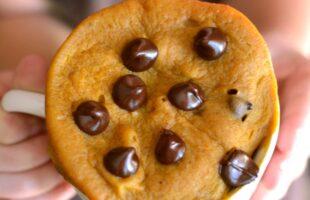 Pumpkin Chocolate Chip Mug Cake 5b