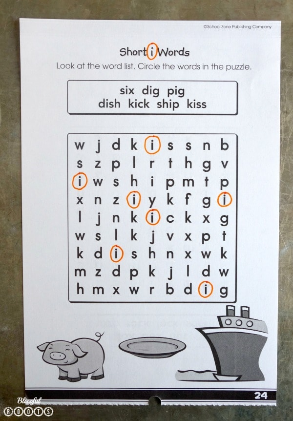 Word Search ABC Hunt
