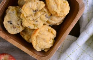Bacon Apple Cheddar Biscuits (she: Cathy)