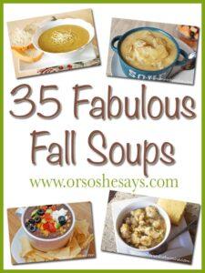 35 Fabulous Fall Soups (she: Mariah)