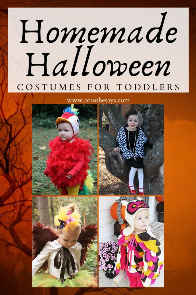 homemade halloween costumes for toddlers