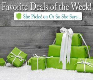 Favorite Deals of the Week ~ She Picks! 11/17/14