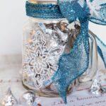 Silk Screen Mug & Snowflake Poem ~ Perfect Neighbor Gift!