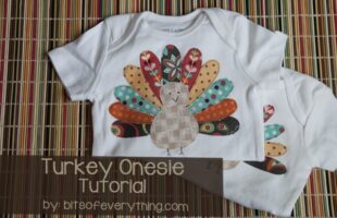turkey onesie tutorial
