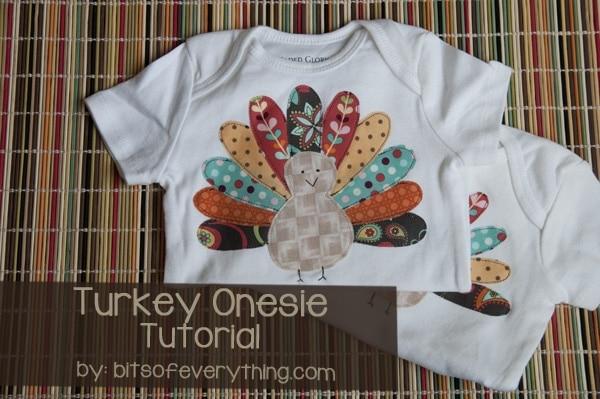 turkey onesie tutorial