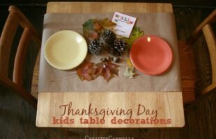 Thanksgiving Kids' Table Idea – Scavenger Hunt (she: Carmella)