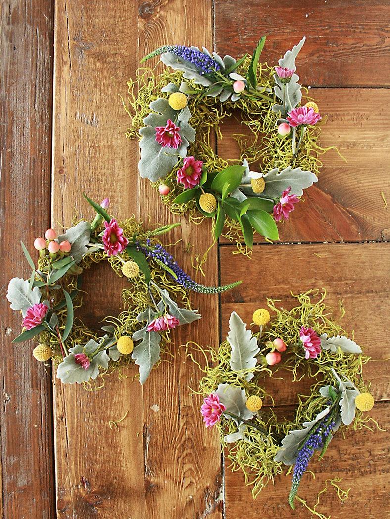 Thanksgiving Wreath Centerpiece She Darleen