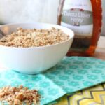Golden Honey Granola - Easy to Make, Great on the Budget! @foodapparel