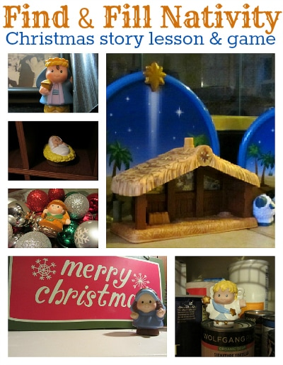 Nativity Tradition ~ and other Christmas family traditions!