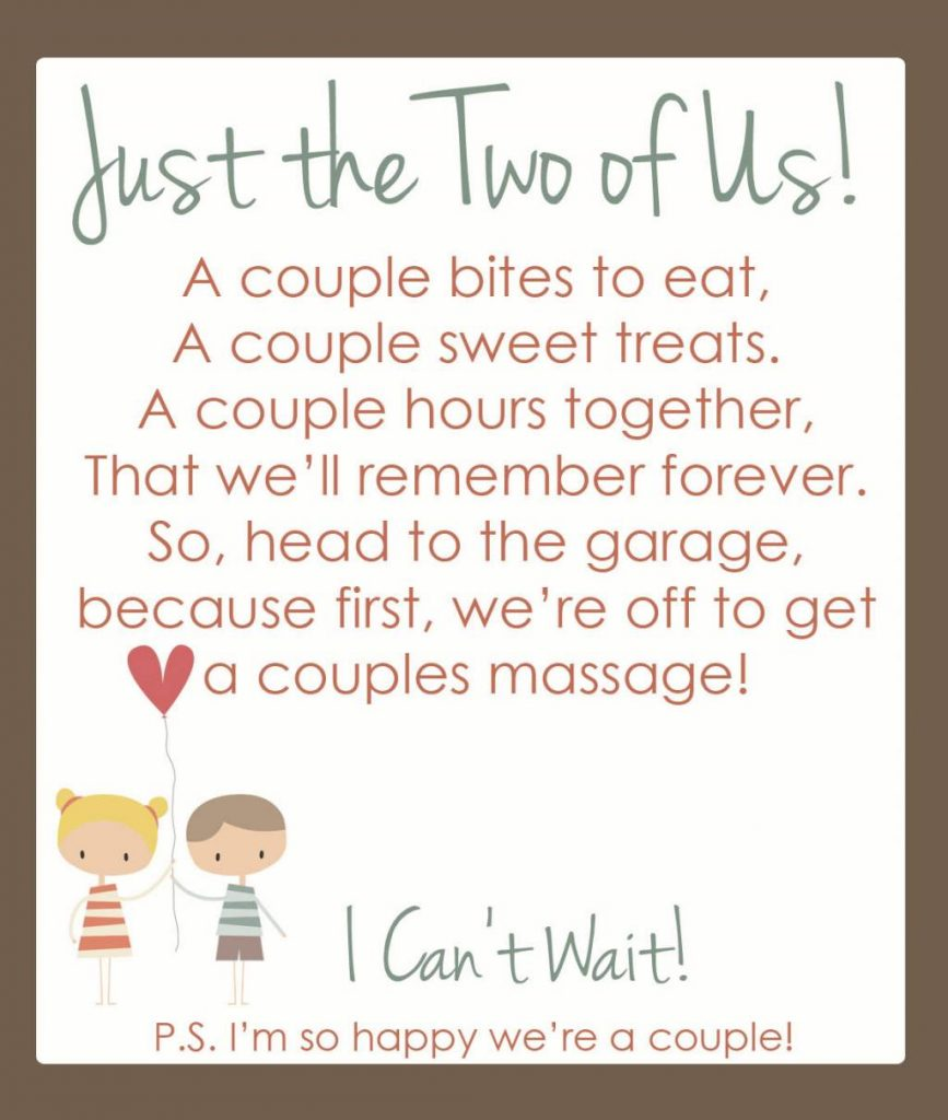 we ve wanted to get a couple s massage for a long time but it never ...