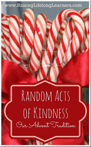 Random Acts of Kindness ~ and other Christmas family traditions!