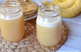 Buttermilk Syrup for Banana Pecan Pancakes!