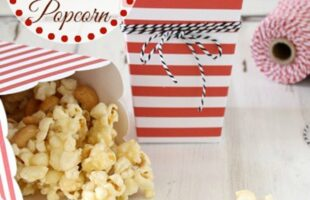Caramel Cashew Popcorn (she: Liz)