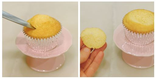 princess cupcake tutorial