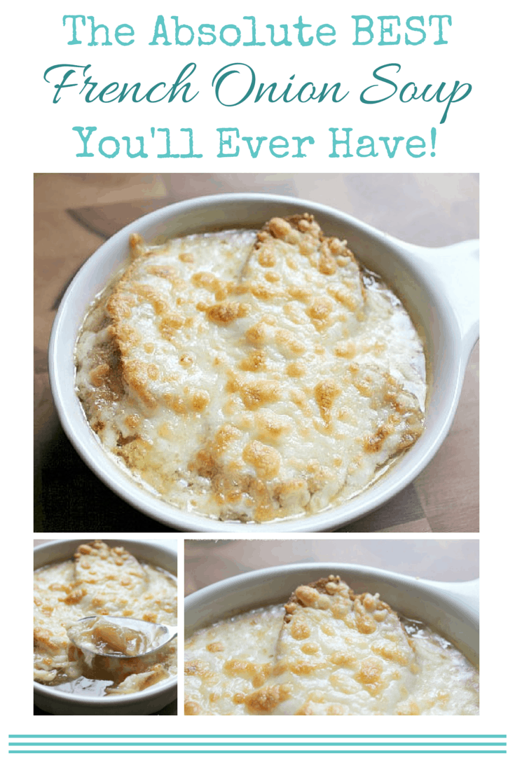 The Absolute BEST French Onion Soup You'll Ever Have!