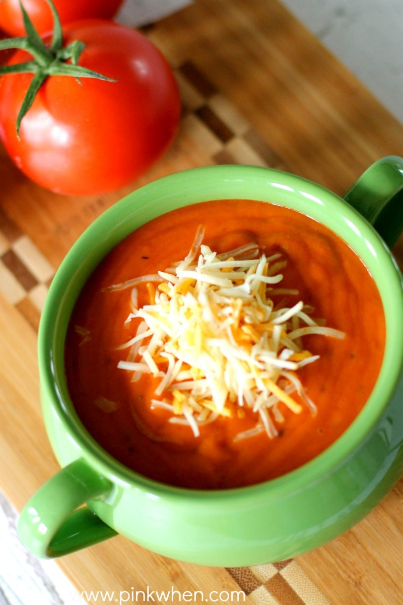 Rich Roasted Tomato Basil Soup Recipe