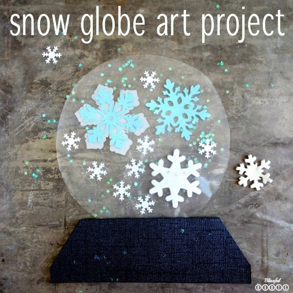 snow globe art project