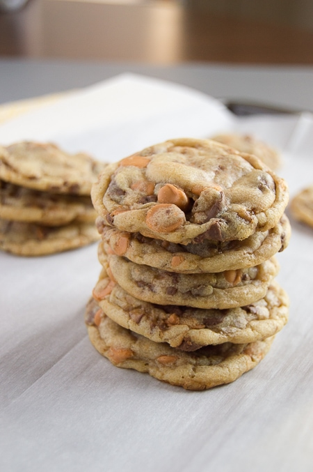 Butterscotch Toffee Cookies | Baked by an Introvert