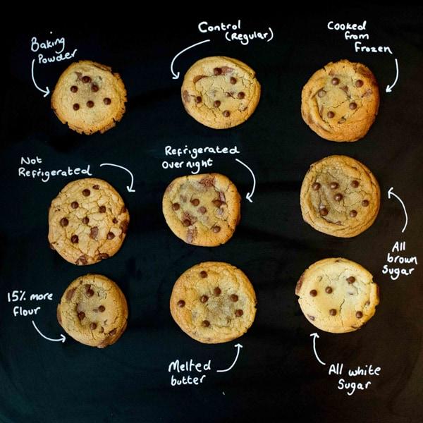 Cookie experiment - KitchenSanctuary.com