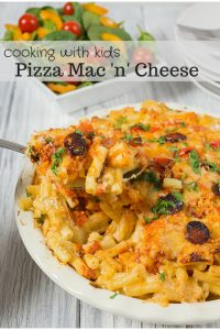 Cooking with Kids - Pizza Mac 'n' Cheese
