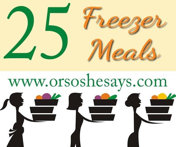freezer meals 2
