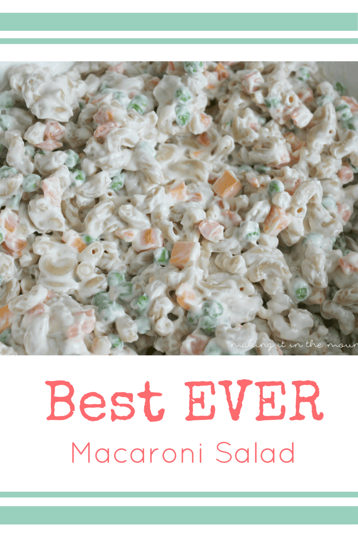 The best macaroni salad ever recipe dishmaps for Best summer pasta salad recipes ever