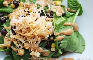 BBQ Ranch Chicken Salad (she: Sam)