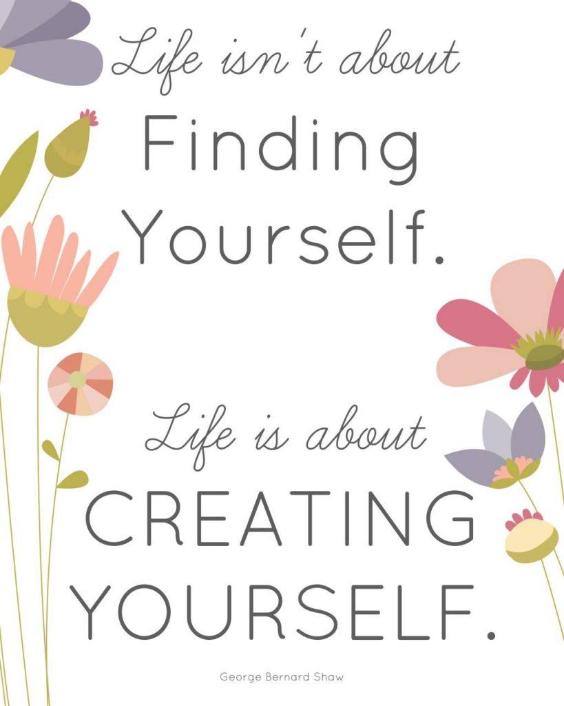 Creating Yourself (1)