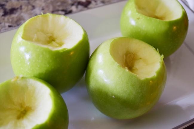 Pecan Craisin Baked apple 3
