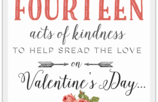 Random Acts of Kindness- 14 Ways to Spread Love this Valentine's Day (she:Carmella)