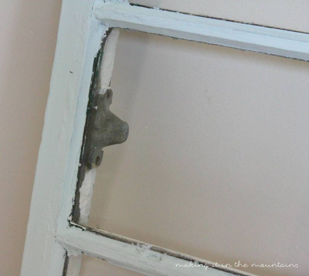 Antique Window Makeover- making it in the mountains