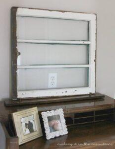 Antique Window Makeover (she: Kristi)