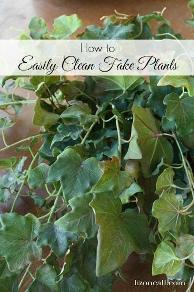 how to easily clean fake plants she liz. Black Bedroom Furniture Sets. Home Design Ideas