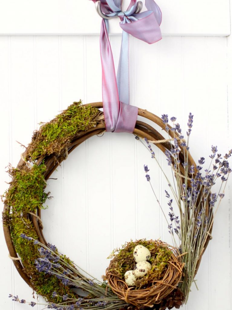 Spring Wreath from Susan of Love of Home