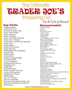 Everything You Must Try At Trader Joe's