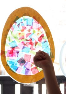 Easter Craft - Stain Glass Egg