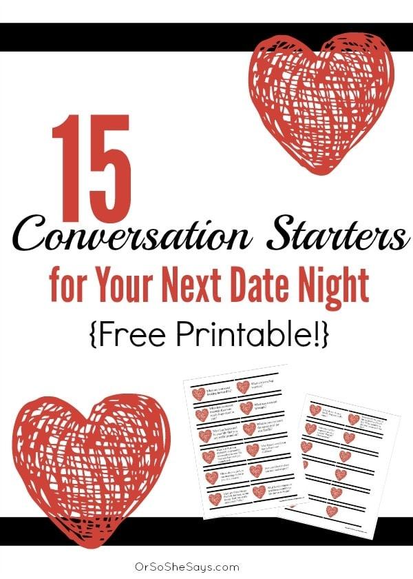 15 Conversation Starters